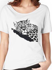 LEOPARD VECTOR Women's Relaxed Fit T-Shirt