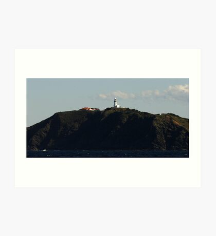 Smokey Cape Lighthouse Art Print