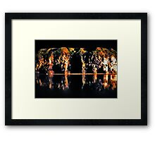 Cave Cathedral Framed Print