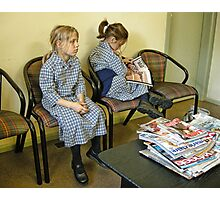 Waiting Room Photographic Print