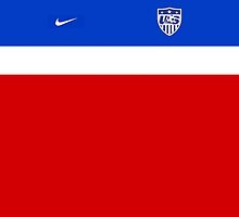 USMNT 2014 Away Jersey (No Number)  by seeaykay