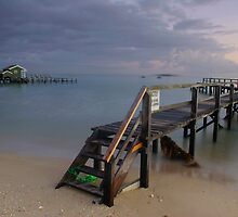 Shelly Beach Jetty by Matt Bishop