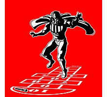 Darth Vader Hopscotch Photographic Print
