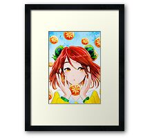 Fruit Girl Framed Print