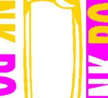 PUNK ROCK-PUNK NATION Sticker