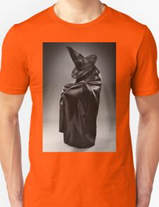 Witch wearing black attire with face hidden T-Shirt