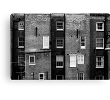 Waking up in London Canvas Print