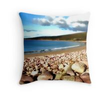 Mulranny Strand Throw Pillow