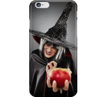 Witch offering a poisoned apple iPhone Case/Skin