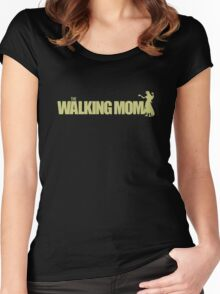 The Walking Mom! Women's Fitted Scoop T-Shirt