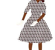 Steam Punk 50s-60s Dot Style by TweedleDeem
