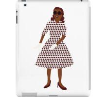 Steam Punk 50s-60s Dot Style iPad Case/Skin