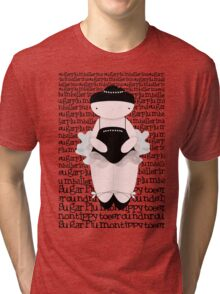 Sugar Plum on Tippy Toes Tri-blend T-Shirt