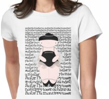Sugar Plum on Tippy Toes Womens Fitted T-Shirt