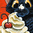 Cat that got the Cream by Lisa Marie Robinson