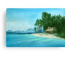 Watercolour 6 Canvas Print