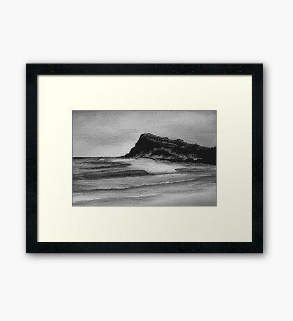 Sumi-e Ink 5 Framed Print