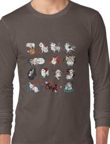 Okami brush gods Long Sleeve T-Shirt