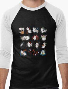 Okami brush gods Men's Baseball ¾ T-Shirt
