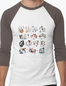 Okami brush gods Men's Baseball ¾ T-Shirt