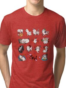Okami brush gods Tri-blend T-Shirt