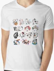 Okami brush gods Mens V-Neck T-Shirt