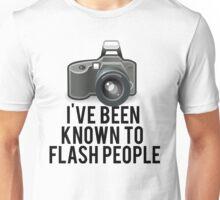 Flash People Funny Photographer Unisex T-Shirt