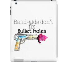 Band-aids don't fix bullet holes.  iPad Case/Skin