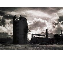 Landscape for Orson Wells # 3: Stack Photographic Print
