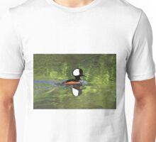 HOODED MERGANSER Unisex T-Shirt