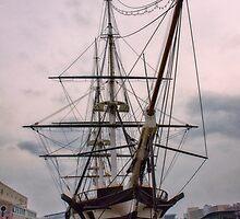 Sailing Into History by WALLPhotoGrafx