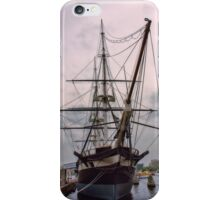 Sailing Into History iPhone Case/Skin