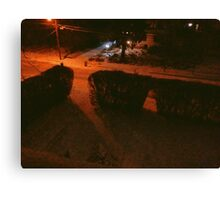 7:44, Stopped Snowing Canvas Print