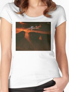 7:44, Stopped Snowing Women's Fitted Scoop T-Shirt