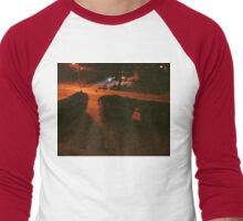 7:44, Stopped Snowing Men's Baseball ¾ T-Shirt