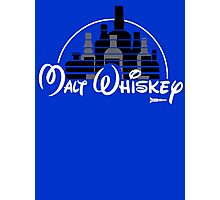 Malt Whiskey not Walt Disney Photographic Print