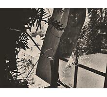 10:58, Still Snowing Photographic Print