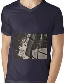 10:58, Still Snowing Mens V-Neck T-Shirt