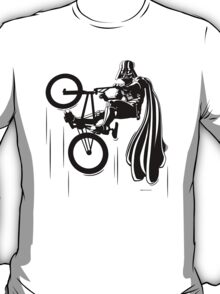 Darth Vader shredding on his BMX T-Shirt