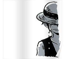 Sad Luffy Poster