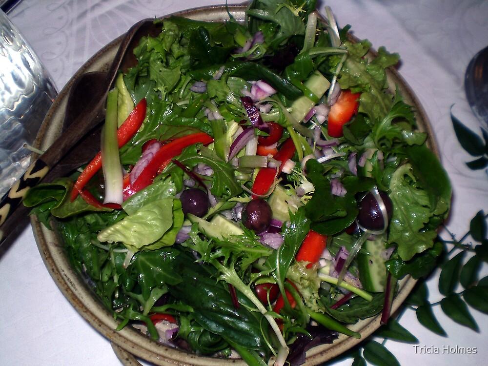 Yummy healthy salad... by Tricia Holmes