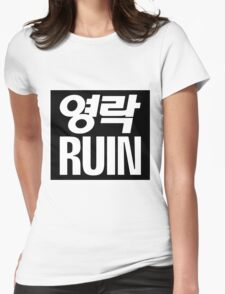 Elite Ruin Womens Fitted T-Shirt