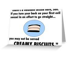 Garmadon's Creamy Biscuits Greeting Card