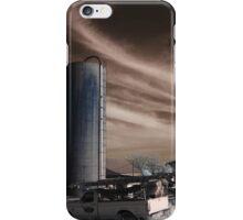 Near Infrared Farm Field iPhone Case/Skin