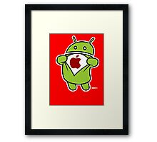 Super Apple Framed Print