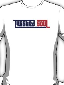 Twisted Soul - Blue/Red T-Shirt