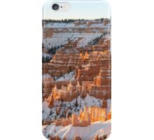 Snow Coat - Bryce Canyon National Park, Utah iPhone Case/Skin