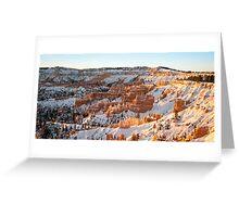 Snow Coat - Bryce Canyon National Park, Utah Greeting Card