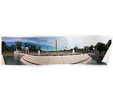 World War 2 Memorial Poster
