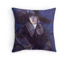 Edwardian lady Throw Pillow